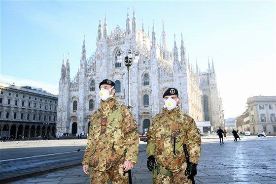 Итали улсад Шинэ Коронавирусийн улмаас 16 сая хүн хөл хорионд орлоо