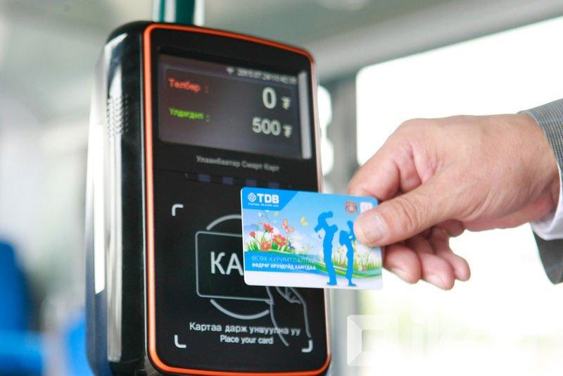 Автобусны картыг дэлгүүр, үйлчилгээний газрын кассын пос машинаар цэнэглэдэг боллоо