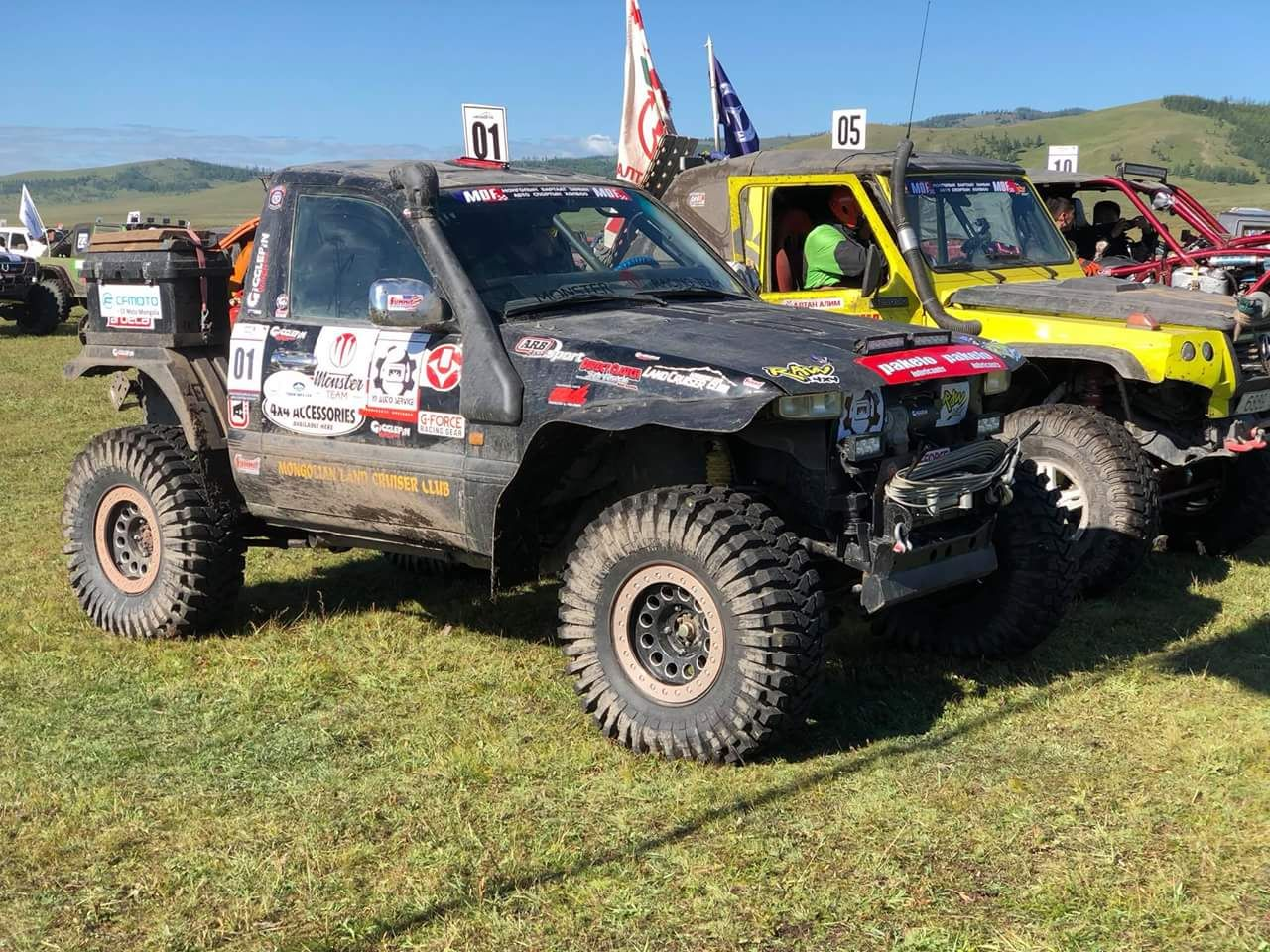 EXTREME 4x4 OFF-ROAD VEHICLES