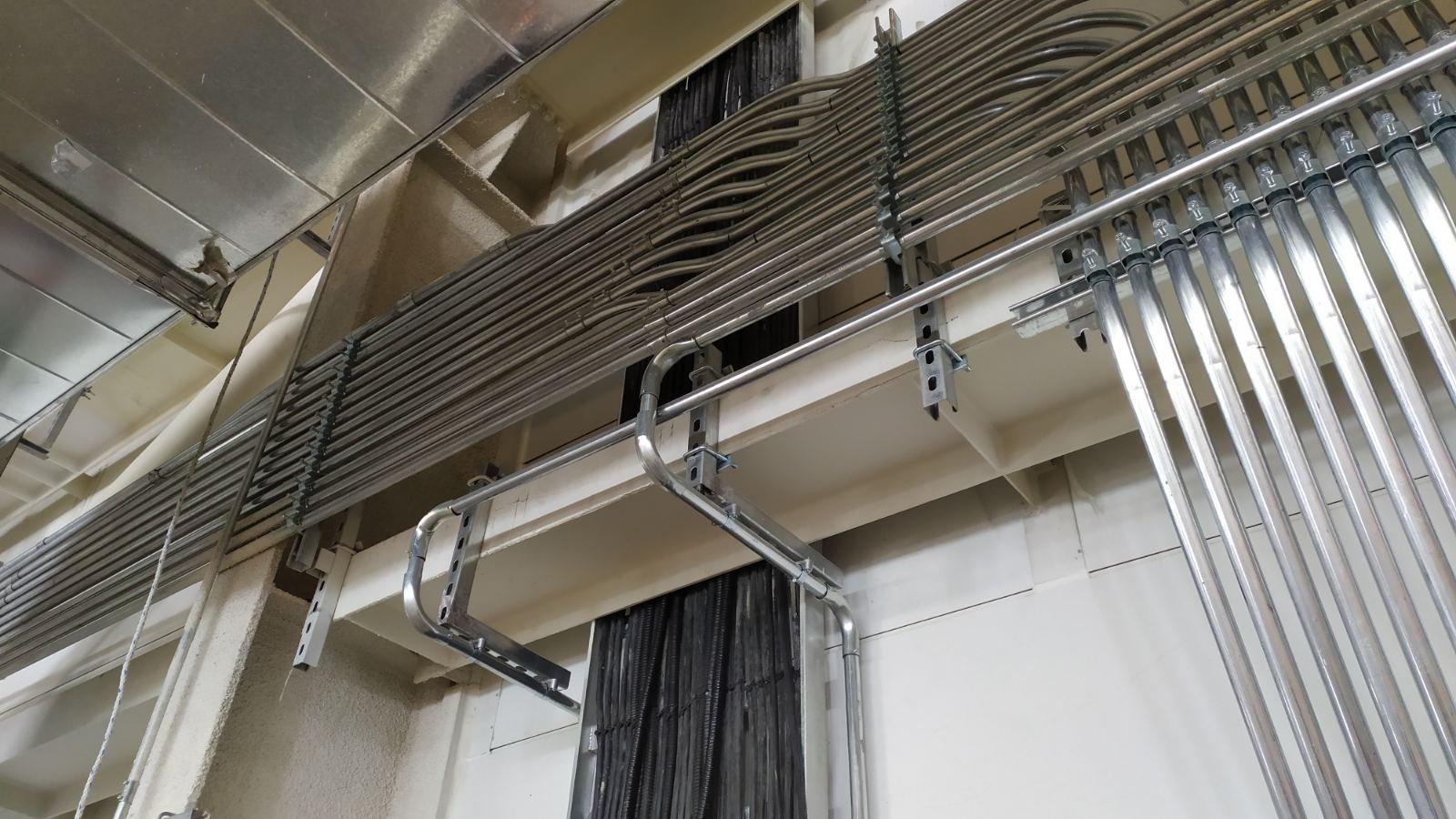 Барилгын дотор цахилгаан хангамж, угсралт