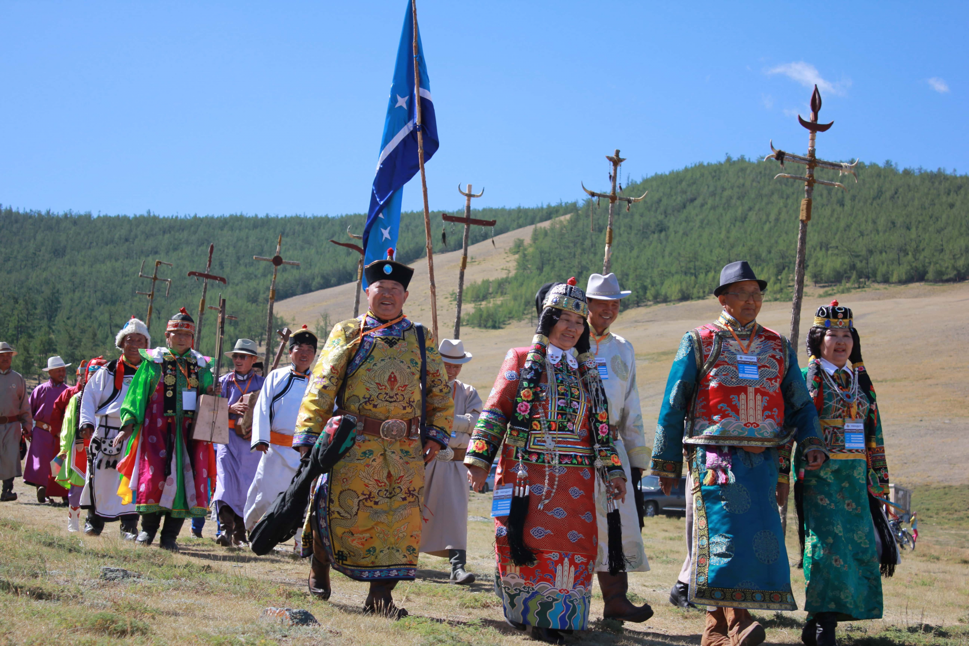 Oirad peoples' folklore festival