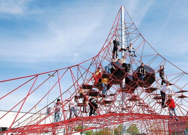Corocord™ rope playground