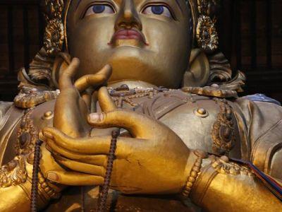 Gandantegchinlen Monastery - Avalokiteśvara