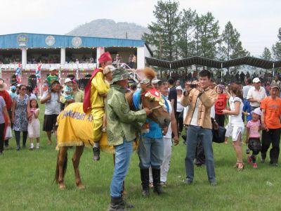 Naadam Festival - Horse racing