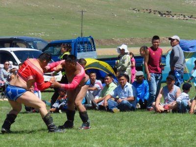 Naadam Festival - Wrestling
