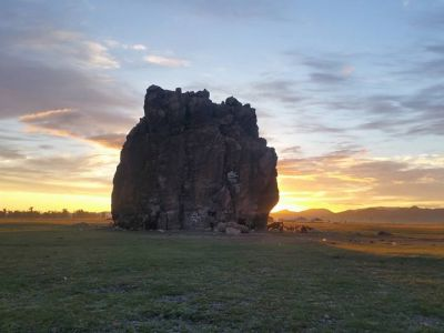 Taikhar Rock is one of the tourist attractions when travelling to Arkhangay