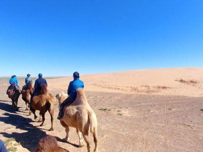Moltsog sand dunes