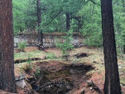 Gunjin Sum - a temple ruin hidden in the forest