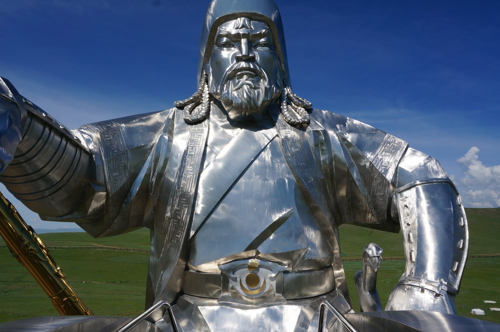 Genghis Khan, great visionary?