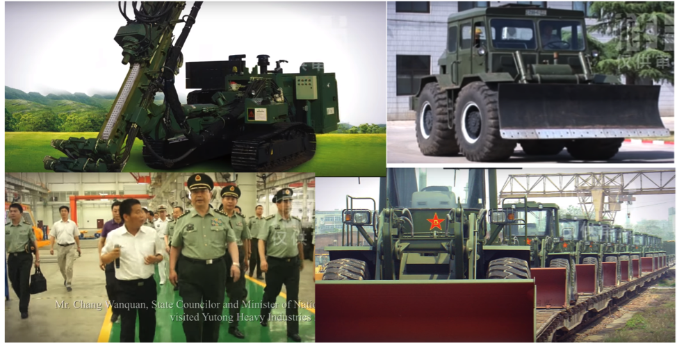 Цэргийн машин механизм