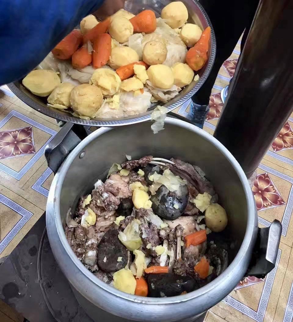 Mongolian delicious Khorkog(Хорхог)