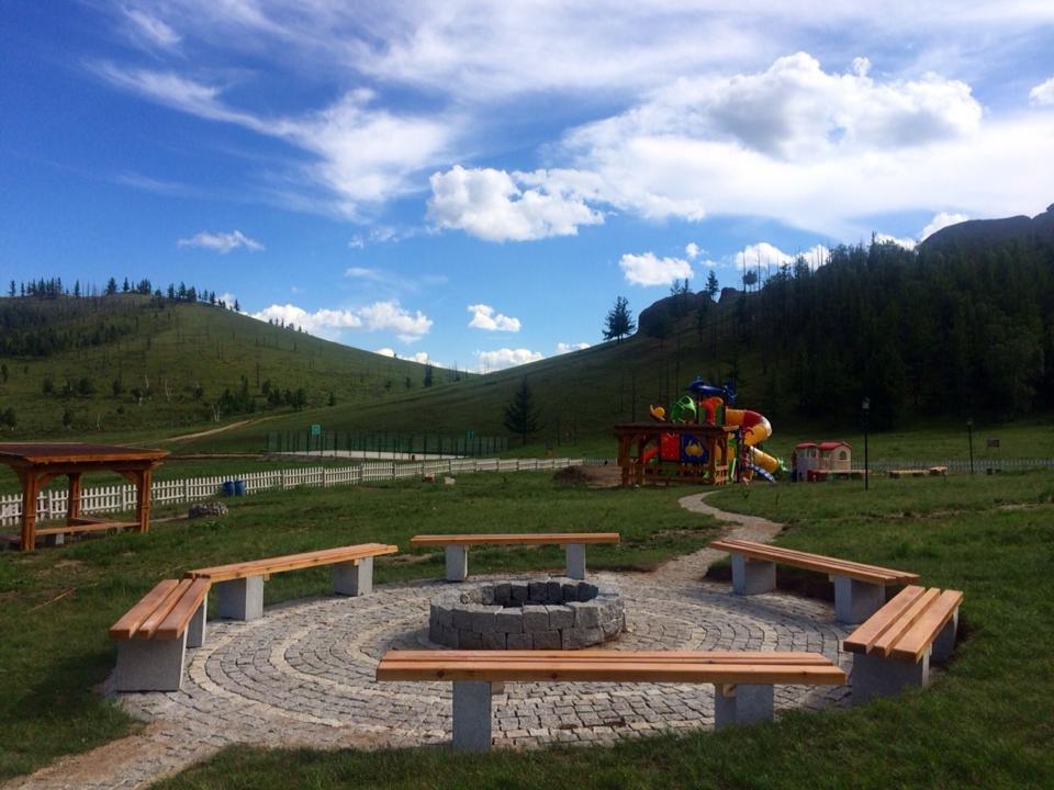 Open air garden