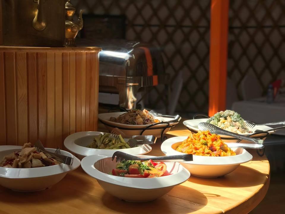 Mongolian buffet restaurant