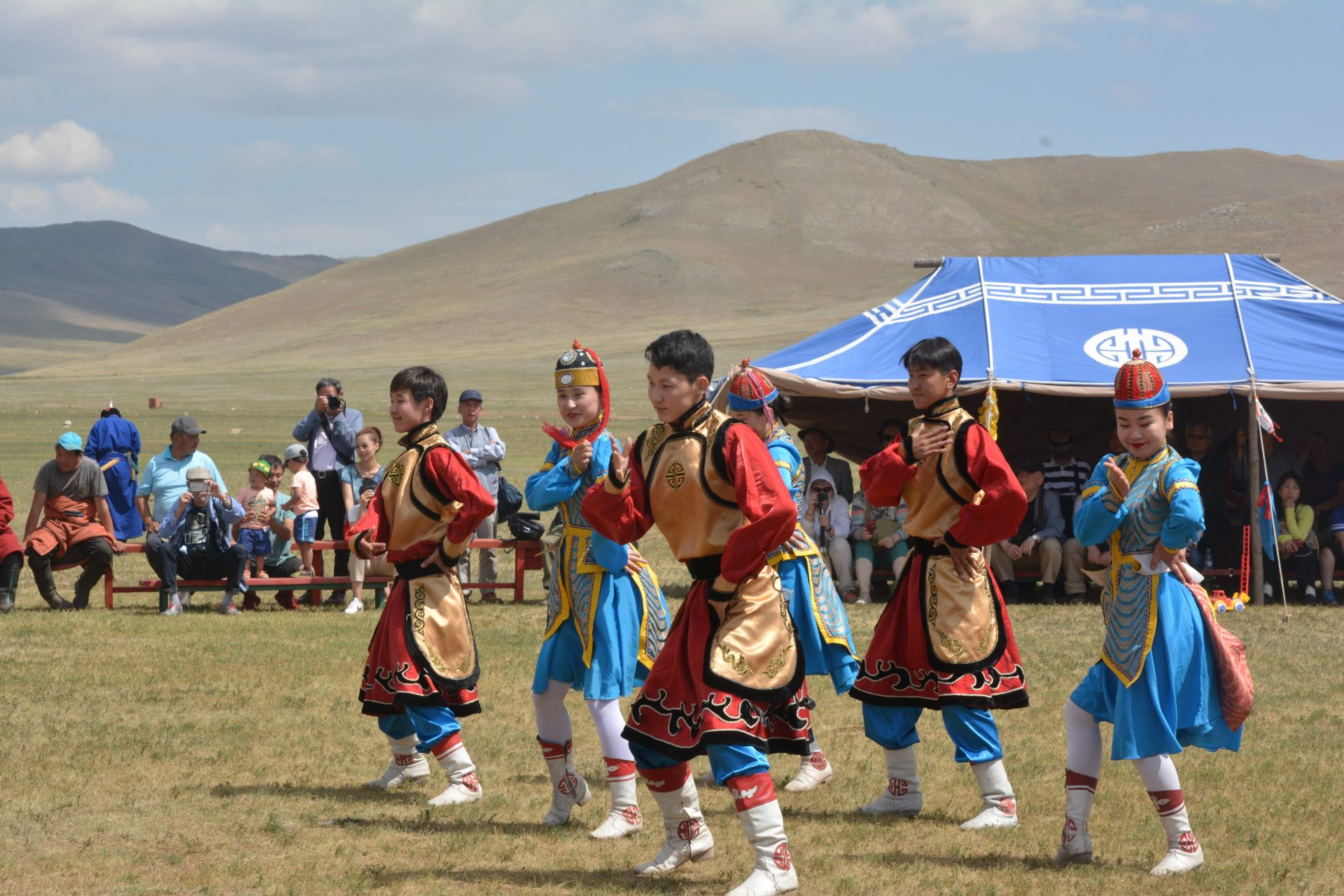 Mongolian folklore show.