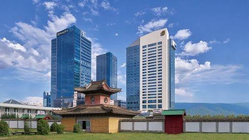 Shangri-La hotel in Ulaanbaatar