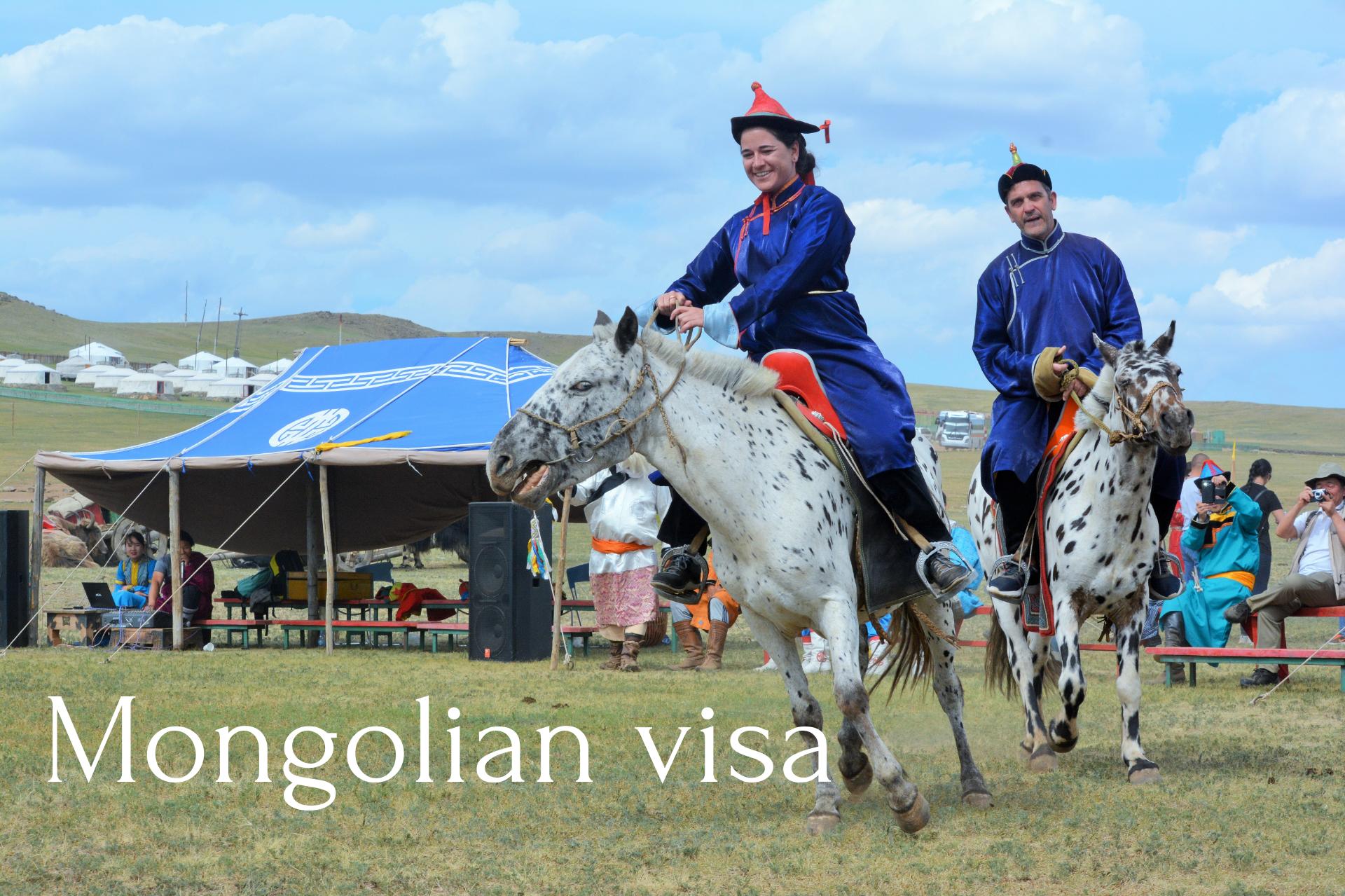 Nationals visa free to Mongolia