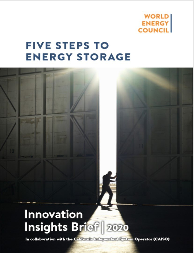 FIVE STEPS TO ENERGY STORAGE
