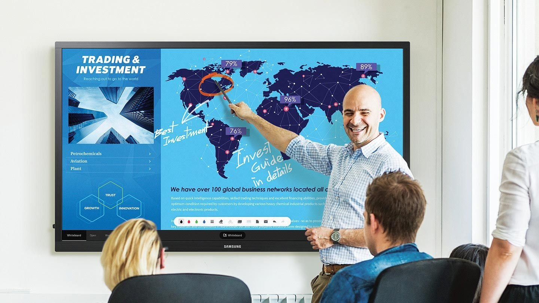 Оффисын хэрэгцээг илүү хялбарчлах Samsung E-Board дэлгэц
