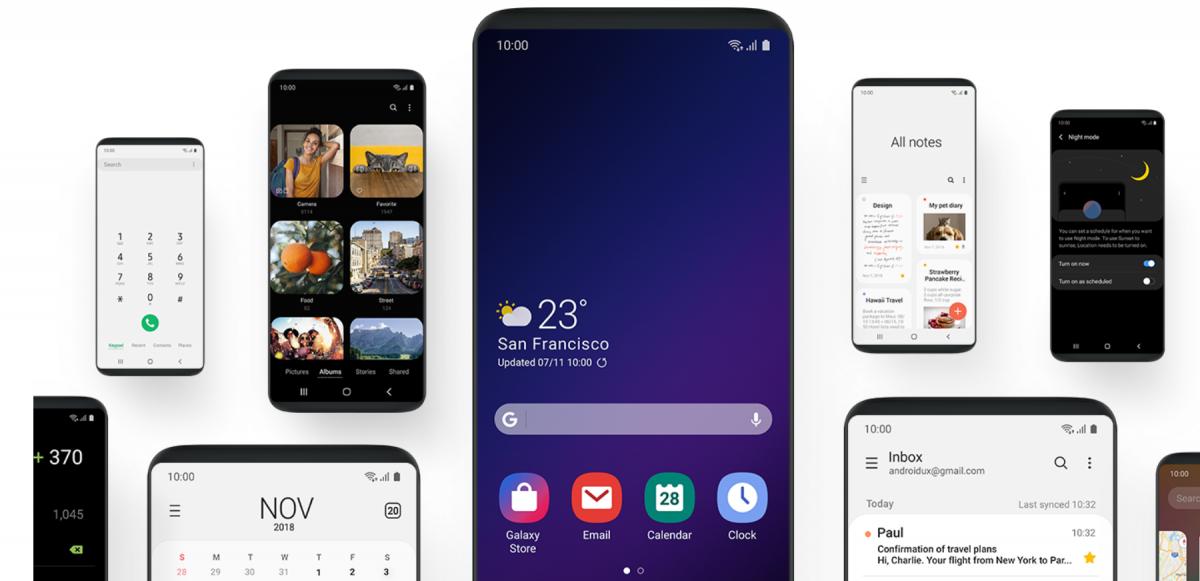 Анхны эвхэгддэг ухаалаг утас Samsung One UI Android 9 Pie үйлдлийн системтэйгээр хэрэглэгчдийн гар дээр очно