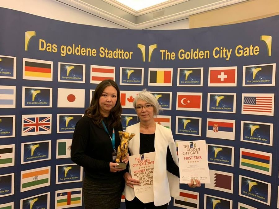'Welcome to Mongolia' song wins Golden City Gate 2019 award