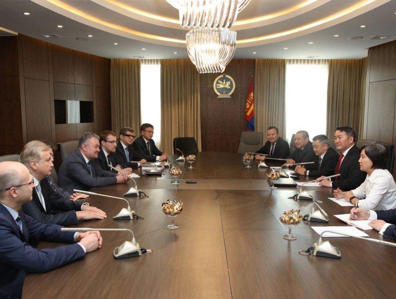 Ерөнхийлөгч Х.Баттулга ОХУ-ын Хуульчдын холбооны төлөөлөгчдийг хүлээн авч уулзав