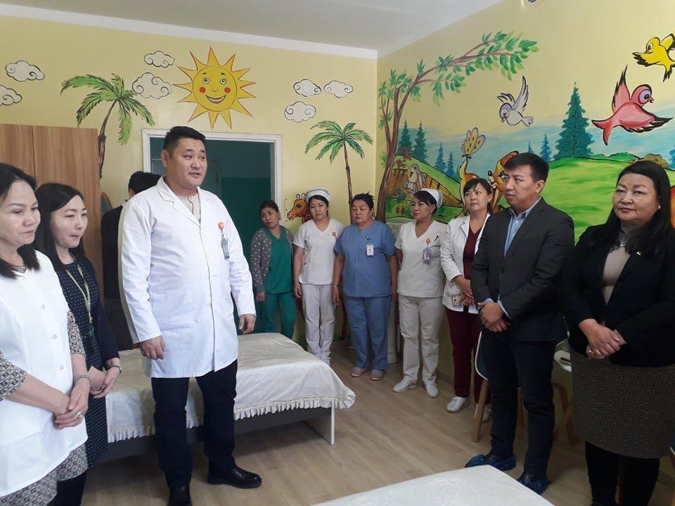 Нэгдсэн эмнэлгийн сэтгэцийн тасаг хүүхдийн тусгай өрөөтэй боллоо