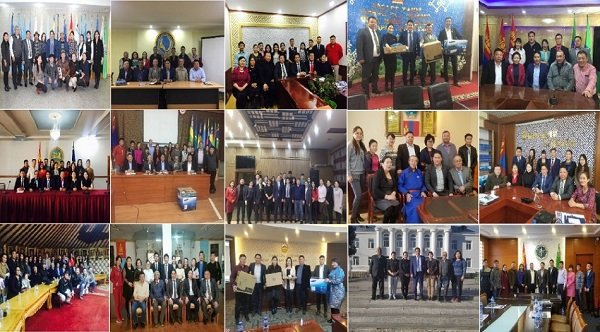 Монголын Сэтгүүлчдийн Нэгдсэн Эвлэл үйл ажиллагааны тайлангаа танилцуулж байна