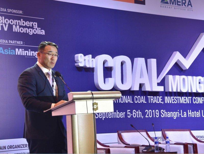 """""""Coal Mongolia 2019"""" олон улсын чуулга уулзалт дээр УУХҮ-ийн сайд Д.Сумъяабазарын хэлсэн үг"""