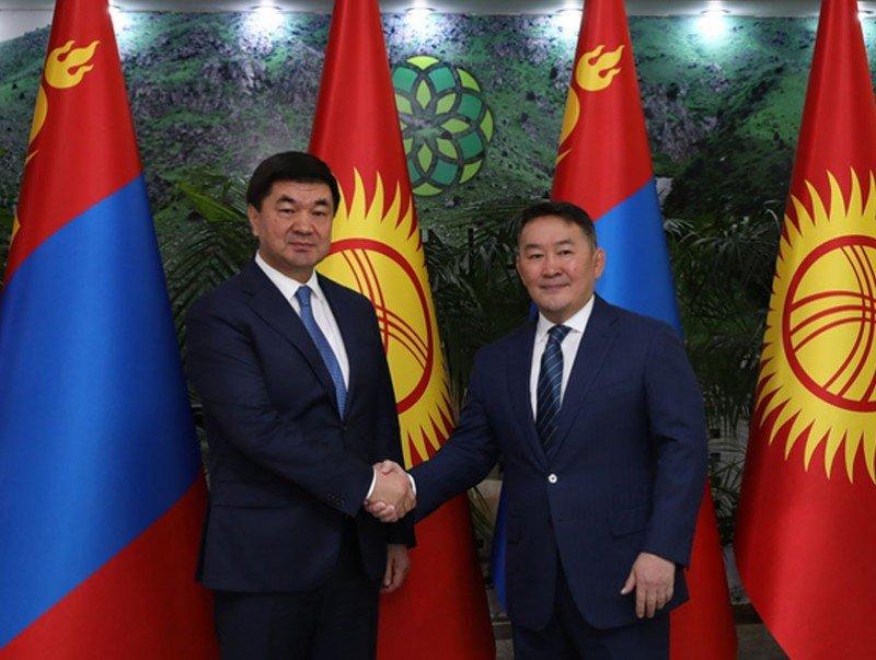 Ерөнхийлөгч Х.Баттулгад Бүгд Найрамдах Киргиз улсын Ерөнхий сайд М.Д.Абылгазиев бараалхлаа