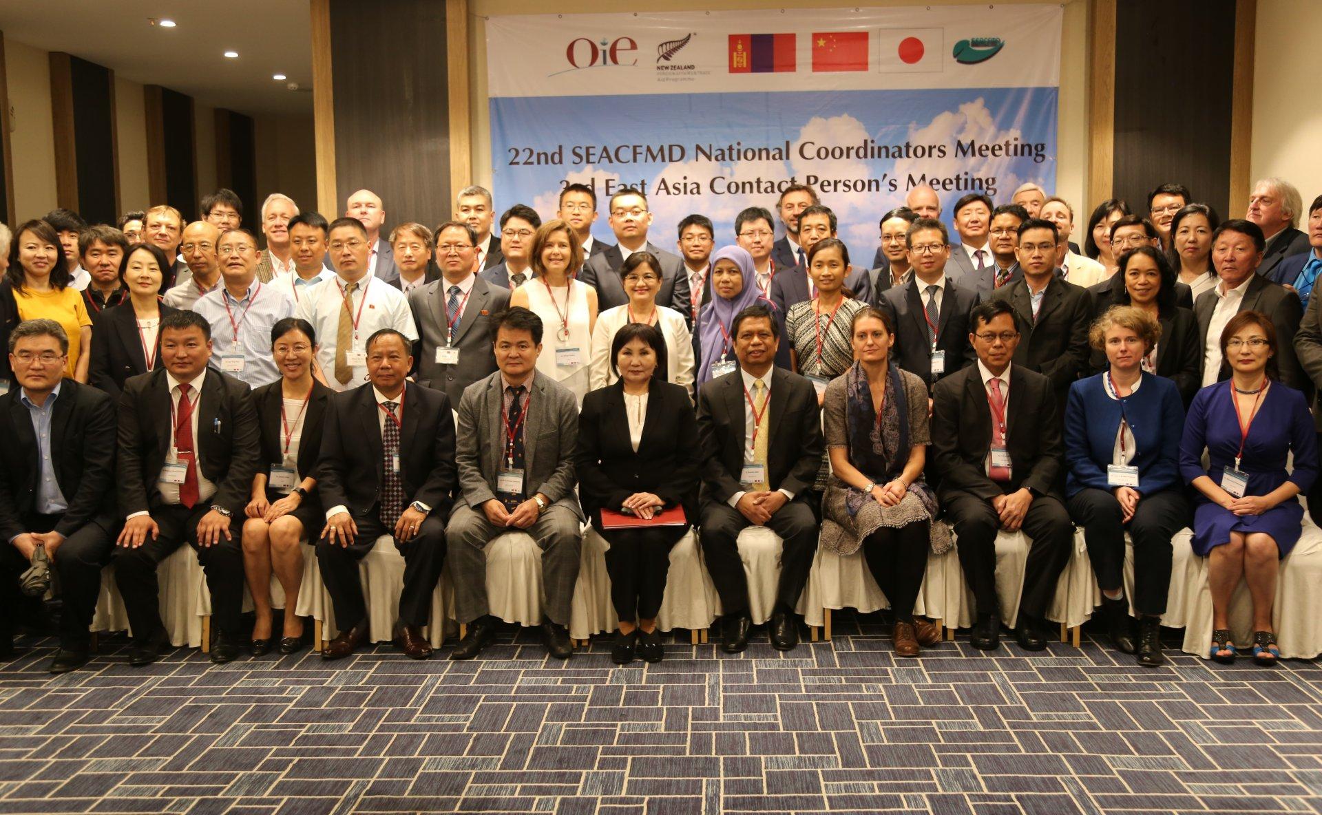 Зүүн өмнөд Азийн шүлхийн  хяналт хөтөлбөрийн үндэсний зохицуулагч нарын 22 дугаар уулзалт болж  байна