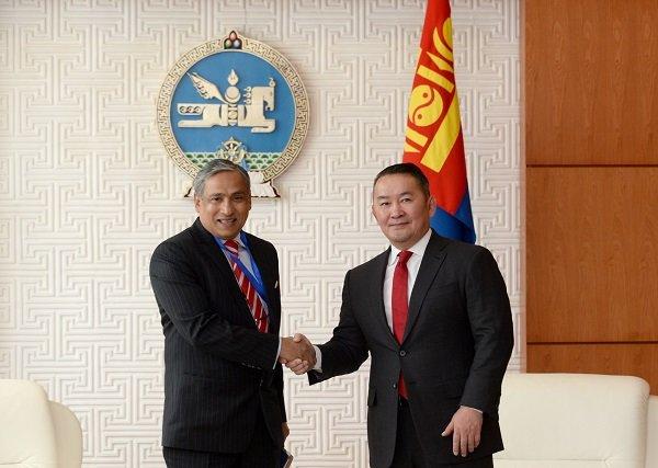 Монгол Улсад томилогдон ирж буй НҮБ-ын суурин зохицуулагч Тапан Мишраг хүлээн авч уулзлаа