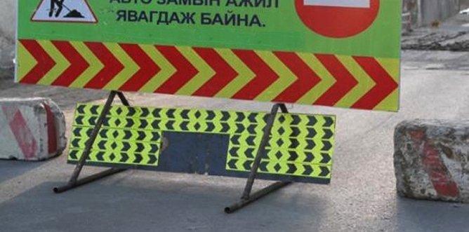 Улаанбаатар-Дархан чиглэлд автотээврийн хэрэгслүүд түр замаар зорчино