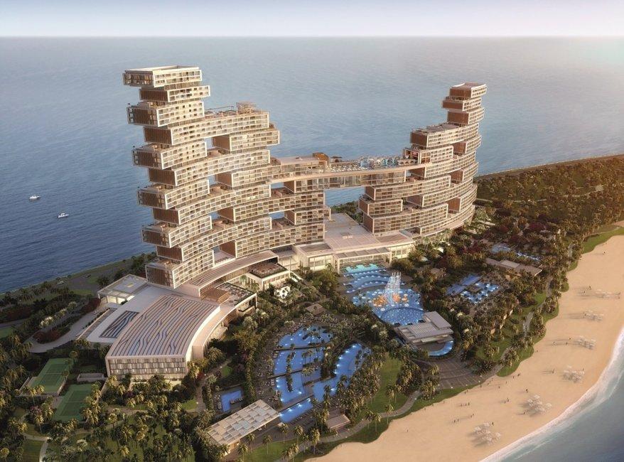 Royal Atlantis  буудлын цогцолборыг барих төсөлд 1.4 тэрбум америк долларыг зарцуулна