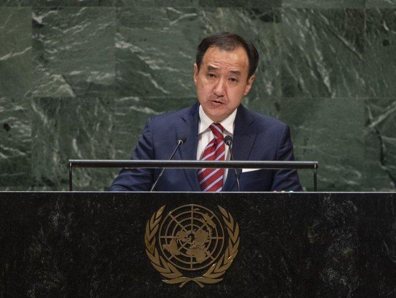 НҮБ-ын Ерөнхий Ассамблейн 74 дүгээр чуулганы ерөнхий санал шүүмжлэлд сайд Д.Цогтбаатарын хэлсэн үг