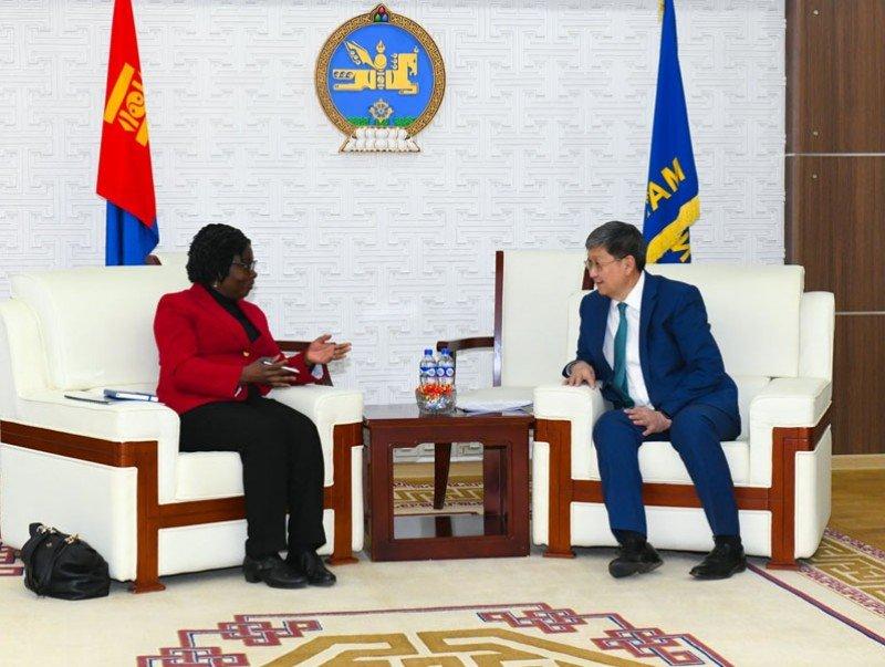 Дэлхийн банкны Зүүн Ази, Номхон далайн бүс хариуцсан дэд ерөнхийлөгч Виктория Квакватай уулзжээ