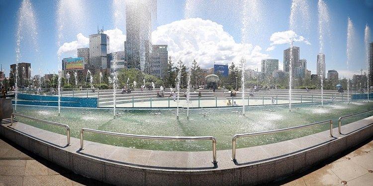 Фото мэдээ: Сүхбаатарын талбайн өмнөх цэцэрлэгт хүрээлэнгийн бүтээн байгуулалт