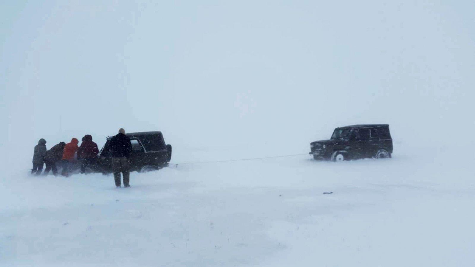 Ихэнхи нутгаар цас орж, цасан шуурга шуурна