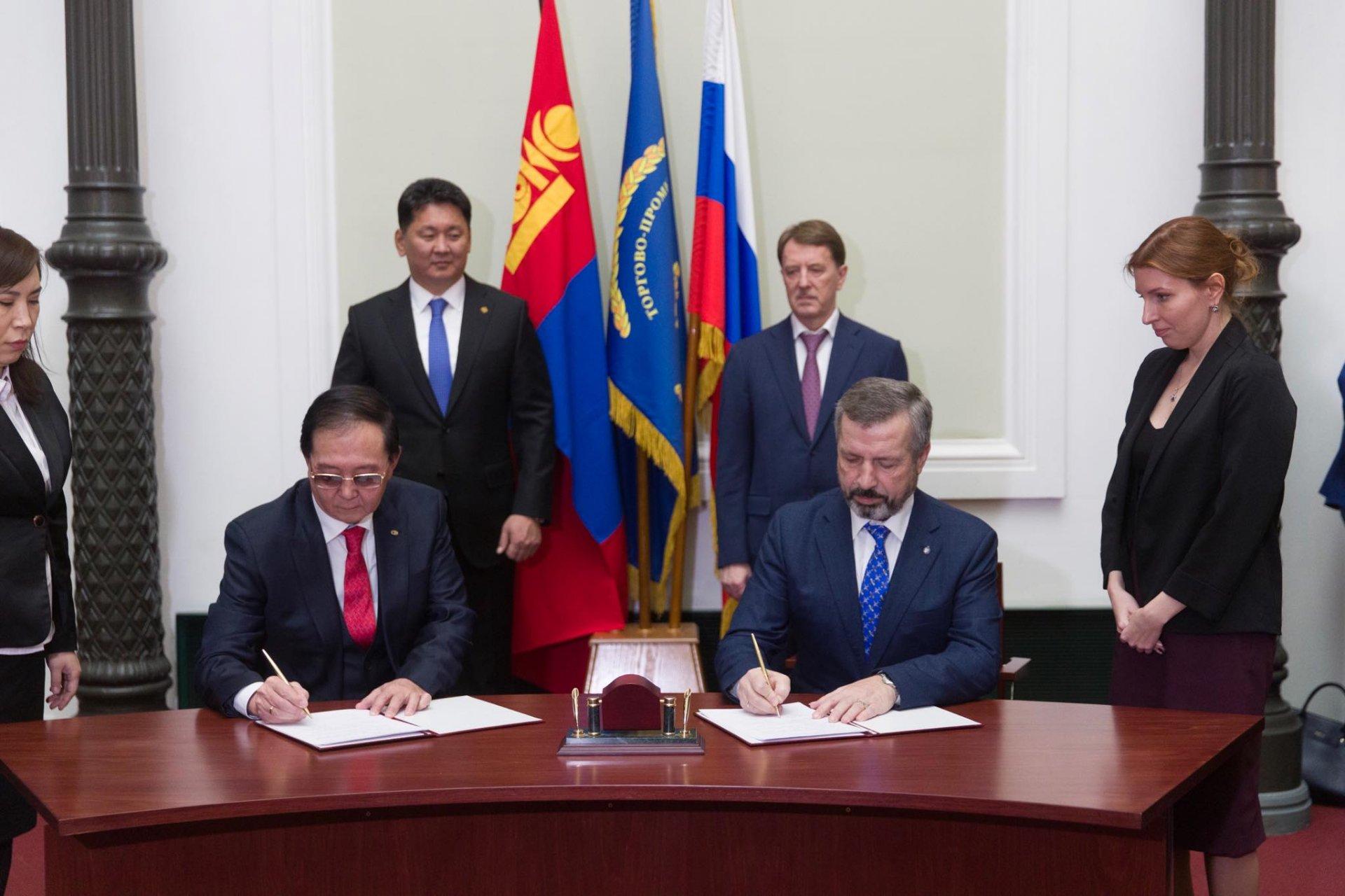 Монгол Улс, ОХУ-ын аж ахуйн нэгжүүд хамтын ажиллагааны баримт бичигт гарын үсэг зурав