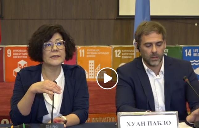LIVE: НҮБ-ын Гадаад өр ба хүний эрхийн асуудал хариуцсан хараат бус шинжээч Хуан Пабло Бохославски Монгол Улсын гадаад өр нь хүний эрх,эдийн засаг, нийгэм, соёлын эрхийг хангуулахад хэрхэн нөлөөлж байгааг талаар танилцуулж байна