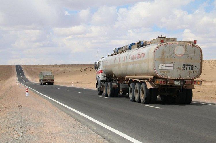 Байдрагийн гүүр-Алтай чиглэлийн 126.7 километр хатуу хучилттай авто замын ажил 65 хувийн гүйцэтгэлтэй байна