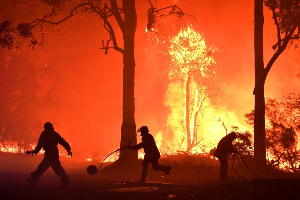 Австралид асаж буй аймшигт түймрүүд бараг унтарч дуусчээ