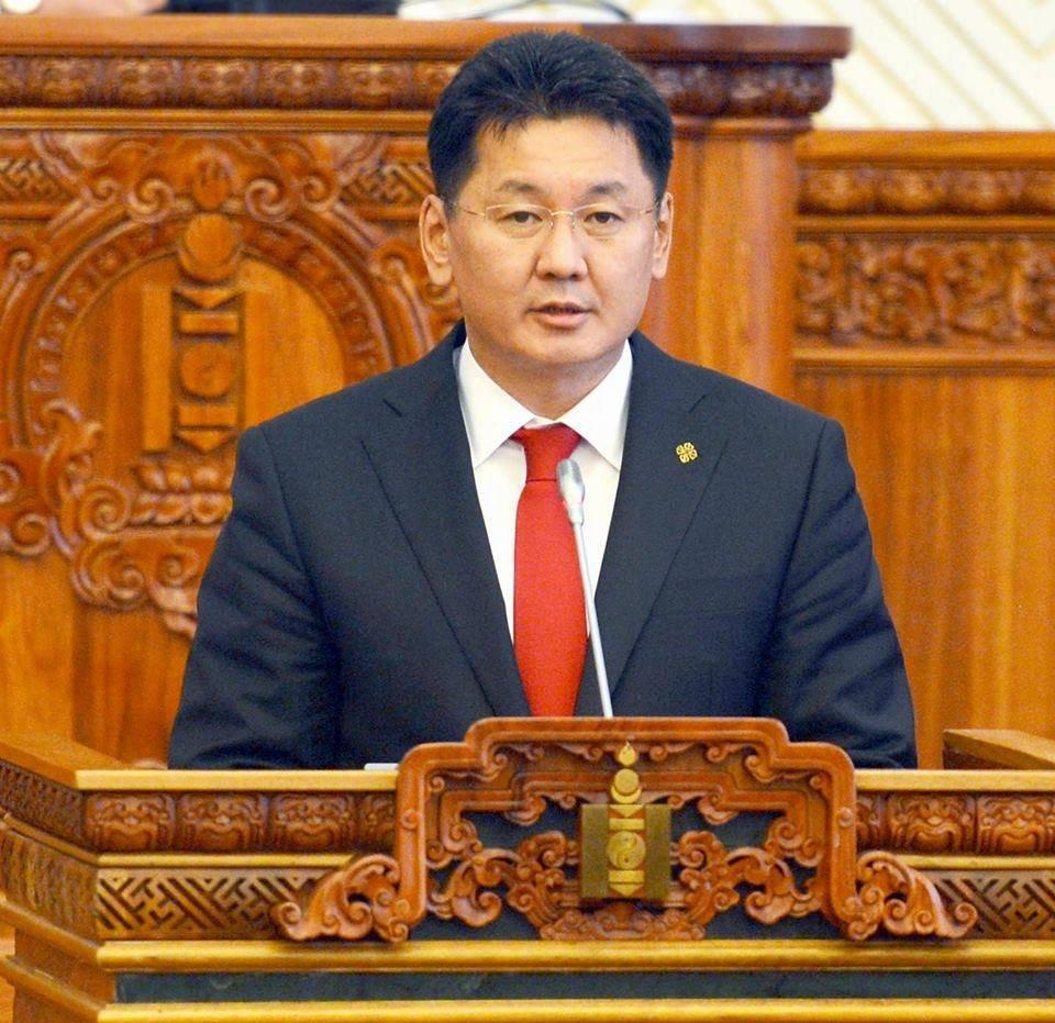 Монгол Улсын Ерөнхий сайд У.Хүрэлсүх ирэх оны төсвийн төслийг танилцуулав