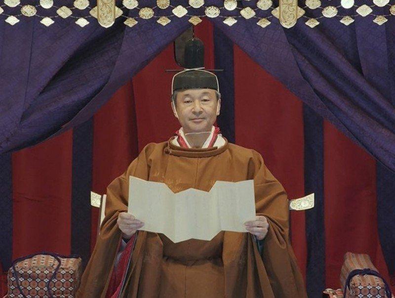 Ерөнхий сайд У.Хүрэлсүх Япон Улсын Нарухитог эзэн хааны сэнтийд заларсныг тунхаглах ёслолд оролцлоо