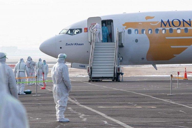 Токио-Улаанбаатар чиглэлийн онгоцоор 258 иргэн эх орондоо ирлээ