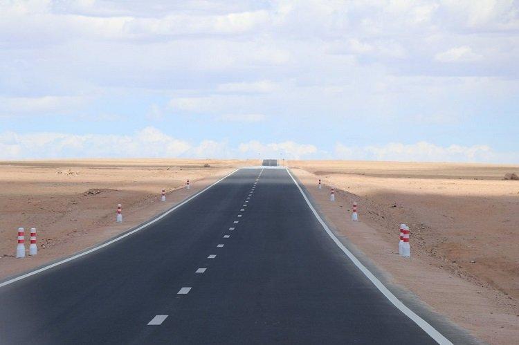 Байдрагийн гүүр-Алтай чиглэлийн эхний 60 километр замыг барьж дуусган хөдөлгөөнийг нээсэн байна