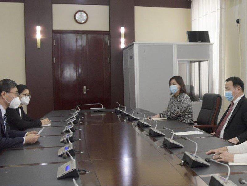 ГХЯ-ны Төрийн нарийн бичгийн дарга Н.Анхбаяр БНХАУ-ын элчин сайдтай уулзав