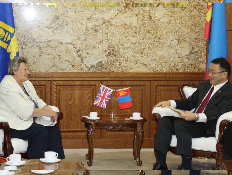 Сайд Д.Сумъяабазар Их Британийн Төрийн Сайд Хедер Уилерттэй уулзлаа