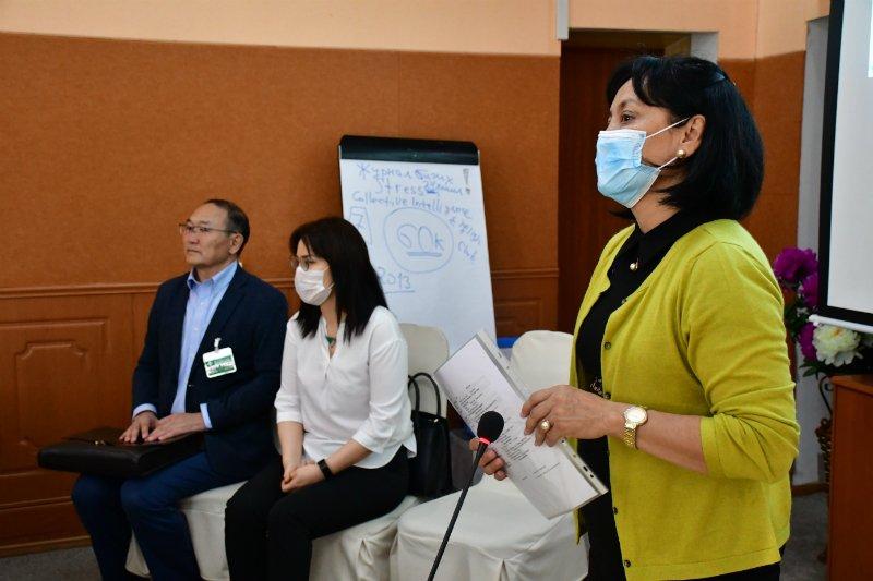 ''COVID-19'' халдварын оношилгоо, эмчилгээ, халдварын сэргийлэлт'' сэдэвт сургалт зохион байгуулж байна
