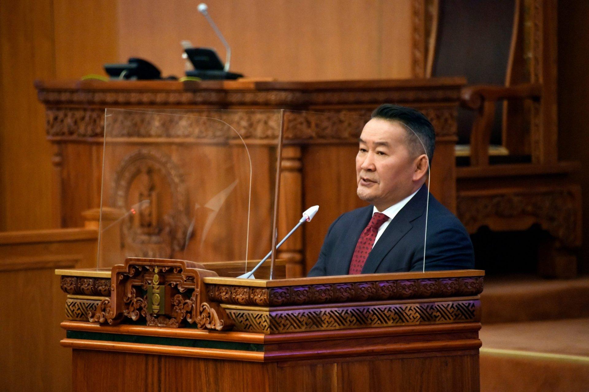 Монгол Улсын Ерөнхийлөгч Х.Баттулга: Шударга шүүхээр шүүлгэх иргэдийн эрхийг хөсөр хаяж, шударга бусын хонгилыг хамгаалж огт болохгүй
