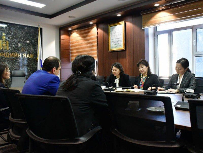 Сайд Д.Сарангэрэл Дэлхийн банкны Монгол Улс дахь Суурин төлөөлөгчийг хүлээн авч уулзлаа